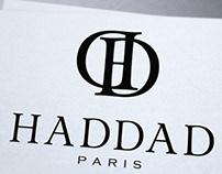 Graphiste logo bijouterie Haddad Paris par Loolye Labat