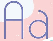 Bonhomía typeface.