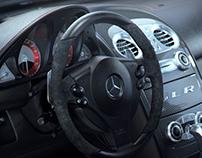 Mclaren Mercedes SLR 722 Interior