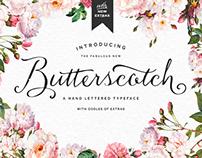 Butterscotch Font + Bonus