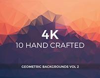 4K Geometric Backgrounds vol 2