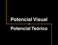 Potencial Visual vs. Potencial Teórico