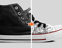 Shoe Mockup Template Pack, Volume 1