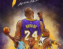 Kobe Bryant Retired Game : April 13 2016