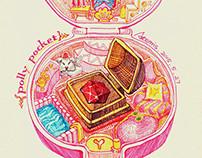 1992 Polly Pocket Jeweled Palace