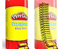 Play-Doh Kırtasiye Stick Stand Tasarımı (3D)