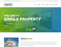 Sopnovilla - Single Property HTML Template