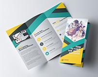Colorful Tri Fold Brochure