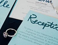 Paper Sample | Wedding Invitation