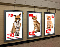 Posters for non-profit organization NKLA