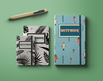 Illustrations for notebook covers