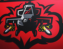 Attack Chopper Logo Project Debris Gaming
