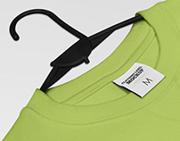 2 Free Clothing Label Mockups