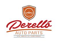 Logotipo Perelló Auto Parts