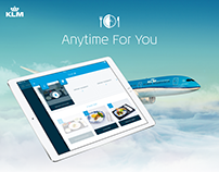 KLM Anytime For You - iPad app