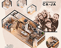 Apartamento Ca-Ja