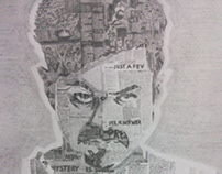 PORTRAIT SKETCHING (KATHTHI 1st look)