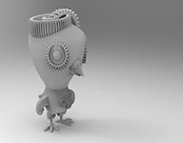 Pigeon - character design