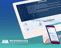 One Page - MM Engenharia