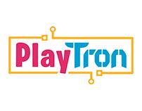 PlayTron - Logo y Spot
