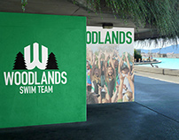 Woodlands Swim Team - Athletic Branding
