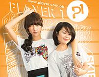 Player 1 Branding