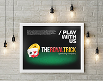 "Logo/poster ""The Royal Trick"""