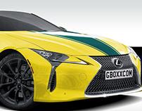 Lexus LC 500 4our Elements