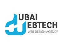Dubai WebTech Logo Design