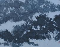山川系列-寒山雪韵-2017