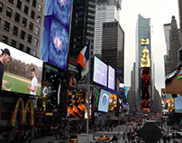 My Work in Times Square