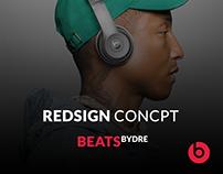 Beatsbydre Redesign Concept