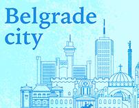 Belgrade city