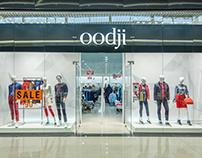 Oodji — Освещение магазина одежды и обуви