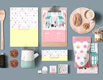 Tea Time Tale Packaging and Collateral Design