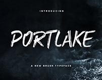 Portlake Brush Typeface