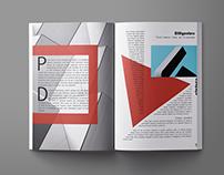 Концепт журнала о дизайне и архитектуре RIVISTA
