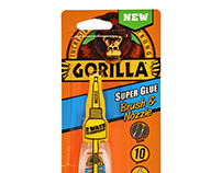 Gorilla® Super Glue Brush & Nozzle