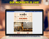 Fat Daddy's Microsite