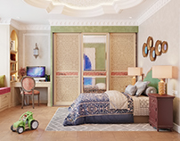 MOROCCAN STYLE KIDS ROOM
