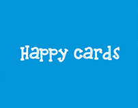 "Delivery Service cards ""Happy Cards"""
