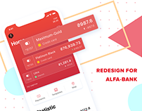 Alfa Bank contest app