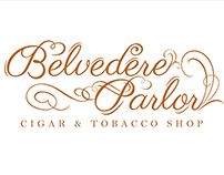 Belvedere Parlor Logo and Business Card Design