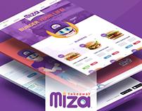Miza Takeaway - Web App.