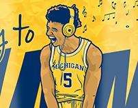 BTN (Big Ten Network) Illustrations
