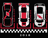 Audi Sport Customer Racing Shirt
