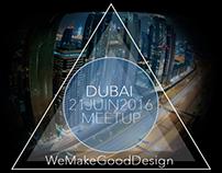 Meetup WeMakeGoodDesign at Dubaï