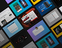 Daily UI Challenges 031 - 040