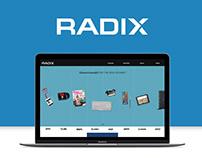 Radix Brand Identity