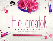 Little Creator - Free font